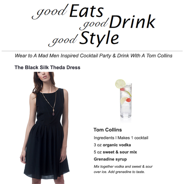 Little Black Mad Men Dress