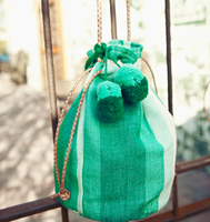 Gradient-mint-small-bucket-bag